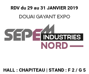 SEPEM INDUSTRIES NORD  January 29th to 31st