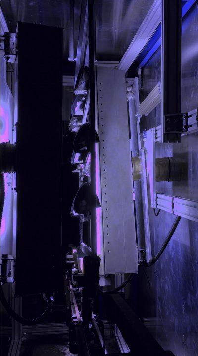 UV Automative parts violet